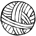 Olympic Yarn & Fiber yarn ball icon